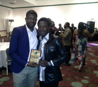 Yemi 2014 INA Awardee presented by Paul Play Dairo